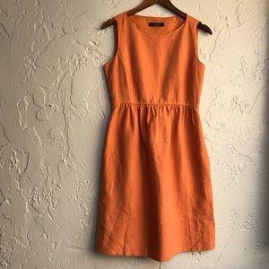 MaxMara Sleeveless Linen Dress